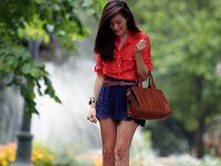 Navy Blue skirt outfits