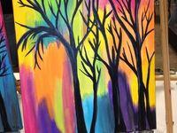 40 easy acrylic canvas painting ideas greenorccom - 840×450