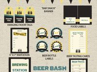 party theme: beer bash