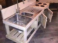DIY Paletten bzw. Holz Küchen In.- Outdoor, Möbel & Accessoires