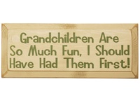 Grandparent love and a little humor