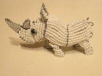 beadwork - wire art / African beadwork, wire art
