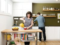Simple kitchens