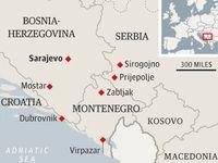Croatia, Montenegro and Bosnia 2013