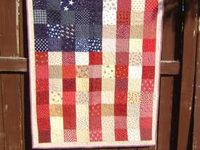 I have my house decorated in Americana now.  I love a rustic red white and blue!