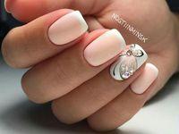 shellac nail ❤️❤️