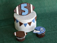 Cute cakes for little boys