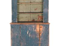 Antique Kitchen Cupboard Screened Doors