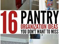 Kitchen & Pantry Organization Ideas