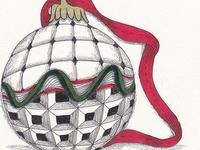 Art Ed - Christmas Zentangling