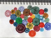 Patterns | Watercolors and Sketches