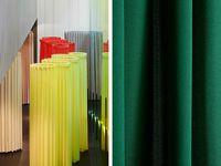 Designer Drapes Doshi Levien Launches Kvadrat Curtain Range And
