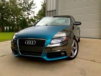 Audi Wrapped In Avery Dennison Swf Conform Chrome Black Lagoon Blue Matte Metallic Wrapped By Miller Decals Black Lagoon Matte Metallic Blue Lagoon