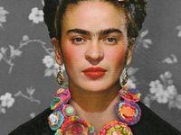 Frida Kahlo.... because I am the subject I know best