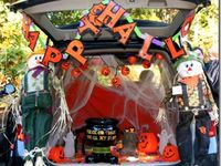 KIDS  Trunk or treat/fall party ideas