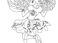 seven little monsters coloring pages - photo#39