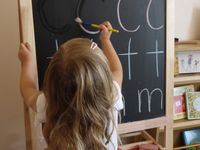 Ideas for homeschooling the little ones.