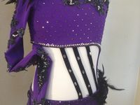 A collection of different dance costumes to inspire me...