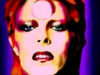 David Robert Jones~Ziggy Stardust~The Thin White Duke~Iconic Almighty Guru~Aladdin Sane~Jean Genie~Starman~Major Tom~The Man Who Sold the World~Cracked Actor~The Man Who Fell to Earth...the epitome of cool.