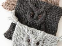 Knitting again.