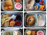 Great food ideas for kids.  It's OK to play with your food!
