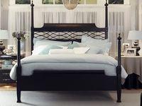 Dark Wood Bed Frame Bedspreads