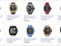 Richard Mille Men's watches price list - cover