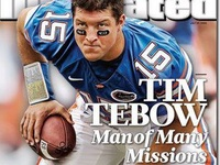 Tim Tebow On Magazine Covers and front page of the news