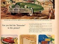 Advertising vintage cars