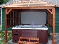 hot tub....