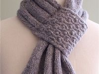 Knitting Patterns For Unusual Scarves : 1000+ images about Tying it up...Scarves on Pinterest Scarf ideas, Knitting...