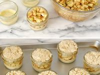 ... on Pinterest | In A Jar, Dessert In A Jar and Coconut Cream Pies