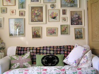 I like the combination of french county and shabby cottage style