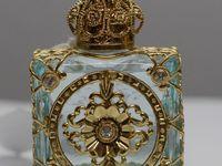 Heavenly perfume bottles