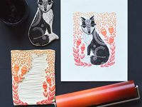 Stamps and Woodcuts