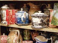 Includes potters, ceramists, techniques, etc.
