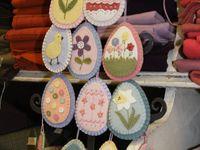 Easter Felt, Easter Crafts & Treats
