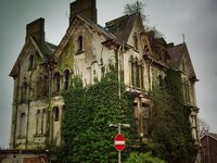 Abandoned-Houses, Castles, School Houses, Barns, Factories, and Misc. Buildings