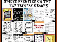 Halloween:  Spiders Ideas/Activities