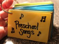 preschool song book