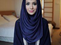 Pretty Hijabis and Muslimah / kaftan,hijab,abaya,nuiqab,etc fashion