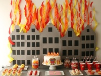 brandweer feest