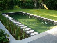 Espejos de Agua y piscinas