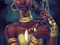 1000 images about nubian warrior queen tattoos on pinterest black women art black art and. Black Bedroom Furniture Sets. Home Design Ideas