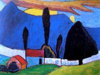 110 Gabriele Münter-Ideen | wassily kandinsky, blauer reiter ...