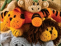 Crochet Patterns Jungle Animals : 1000+ images about Crafts: Crochet, Jungle Animals on ...