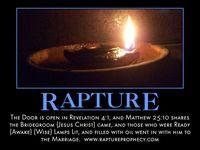 rapture rosh hashanah