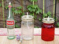 Glass Bottle ideas!