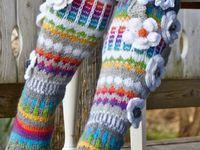 Anelma Kervinen Flower Socks