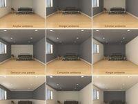 プロジェクタースクリーン 壁紙 グレーの壁 リビング Ebクロス などのインテリア実例 2019 02 16 22 39 08 Roomclip ルームクリップ リビング プロジェクター インテリア インテリア 実例